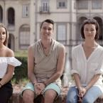 Margherita Quilici, Andrea Simonetti e Lavinia Andreini